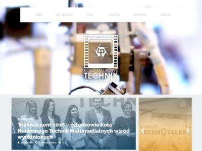 Realizacja: Koło Naukowe Technik Multimedialnych