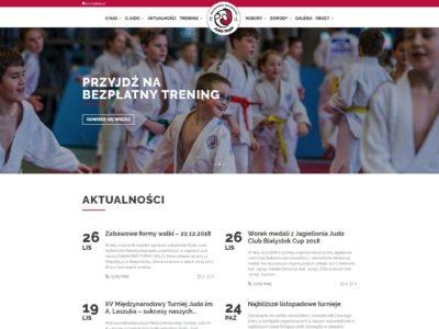 Realizacja: Klub Judo Politechniki Białostockiej